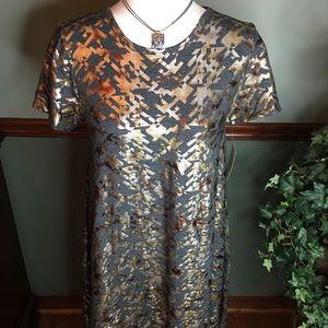 NWT LuLaRoe XS Carly/Elegant Collection